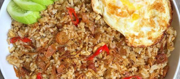 Cara Membuat Nasi Goreng Telur Sederhana ala Abang Kaki Lima