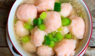 cara membuat bakso udang