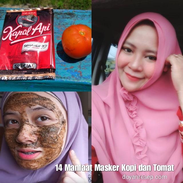 Manfaat Masker Kopi Tomat Untuk Wajah Berseri