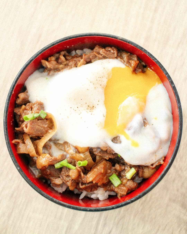 resep gyudon beef bowl jepang