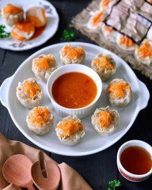 Cara Membuat Siomay Dimsum Ayam Udang ala Resto Enak Halal