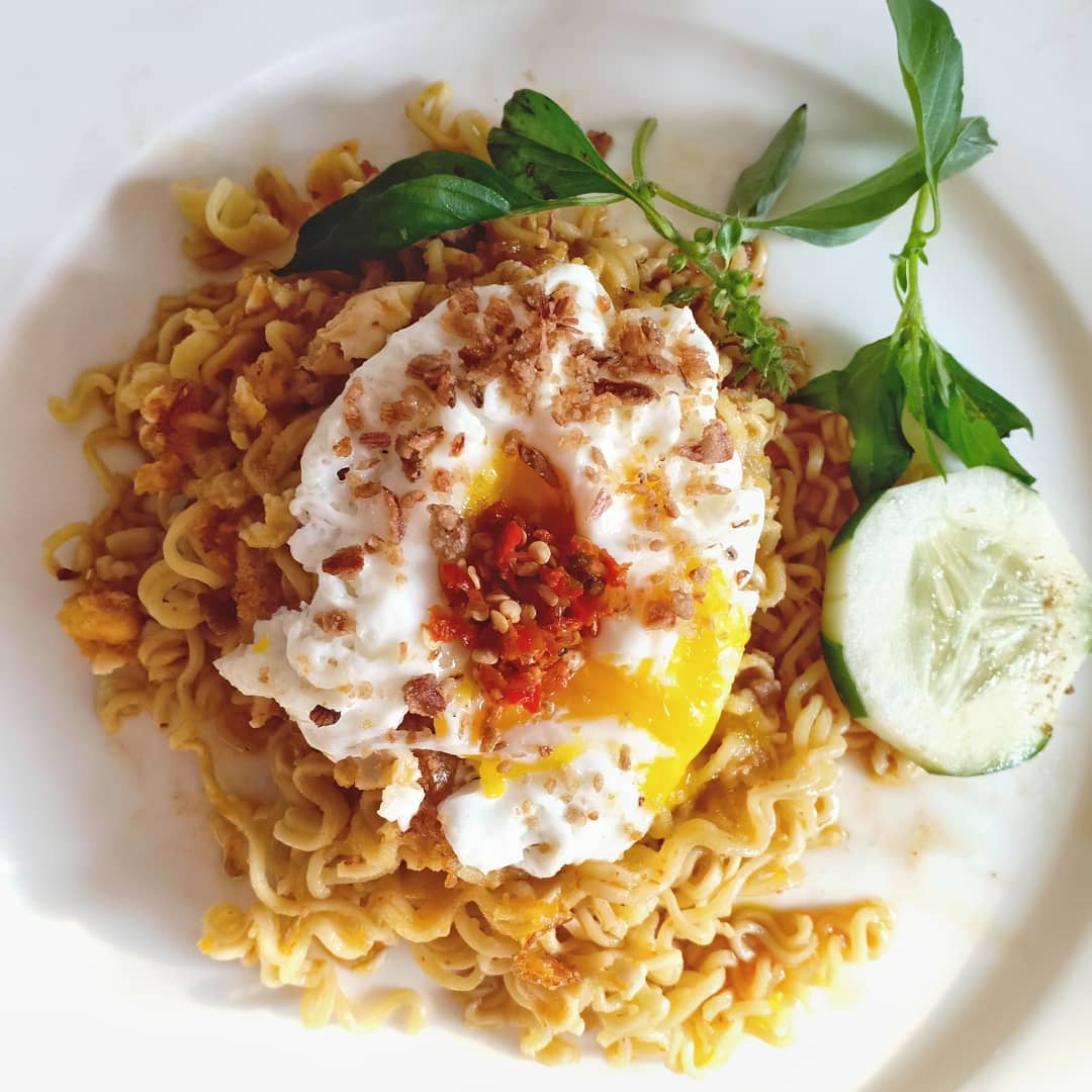Resep Indomie Salted Egg