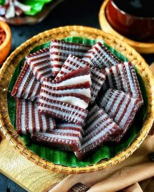 Resep Kue Lapis Coklat Kenyal Untuk Sajian Arisan dan Snack Box