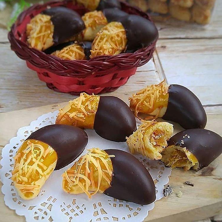 Resep Nastar Cokelat Keju Choco Cheese Nastar