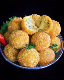 Resep Potato Cheese Balls (Bola-bola Kentang Keju) Enak Gurih