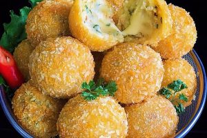 resep potato cheese balls