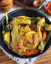 Resep Ayam Lodho Pedas Yang Maknyus Asli Trenggalek Jawa Timur