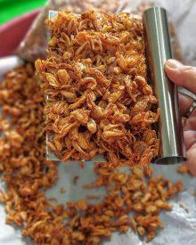 Resep dan 5 Tips Membuat Bawang Goreng Renyah, Garing dan Tahan Lama Sampai 2 Bulan