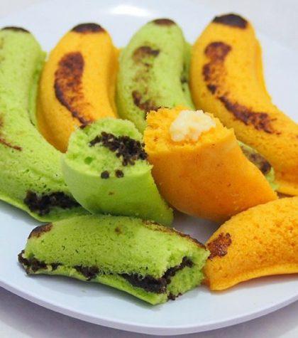 Resep Banana Steam Cake (Bolu Kukus Pisang) Anti Gagal Cukup 8 Bahan Saja!