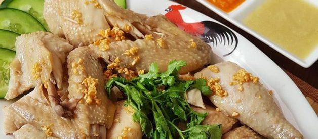 Resep Ayam Rebus Pek Cam Ke (Hainan Chicken) Masakan Imlek Yang Cocok Untuk Diet
