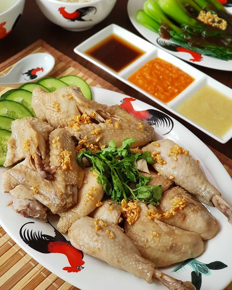 Resep Ayam Rebus Pek Cam Ke