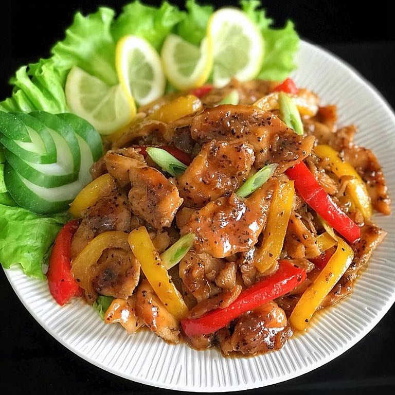 Resep Honey Pepper Chicken
