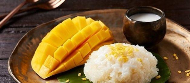 Resep Mango Sticky Rice (Ketan Mangga) ala Thailand Super Gurih