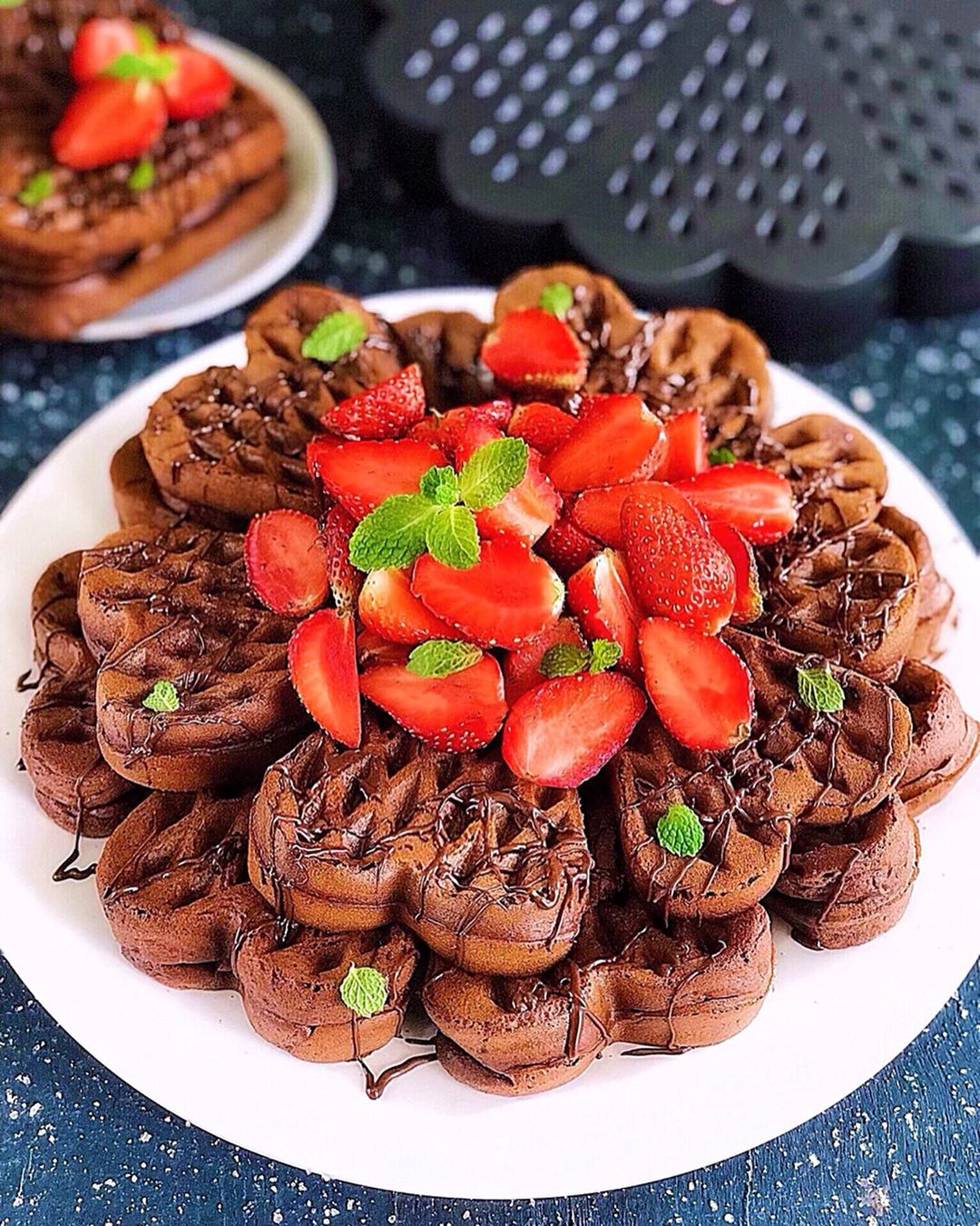 Resep Waffle Coklat Belgian