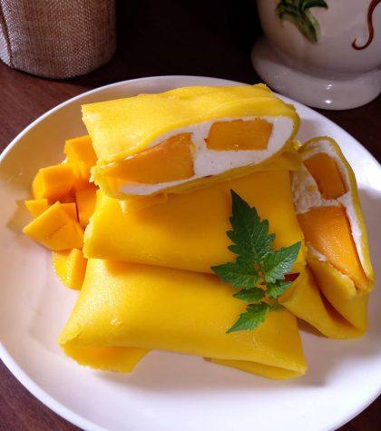 Cara Membuat Pancake Mangga (Mango Pancake) Enak Super Legit