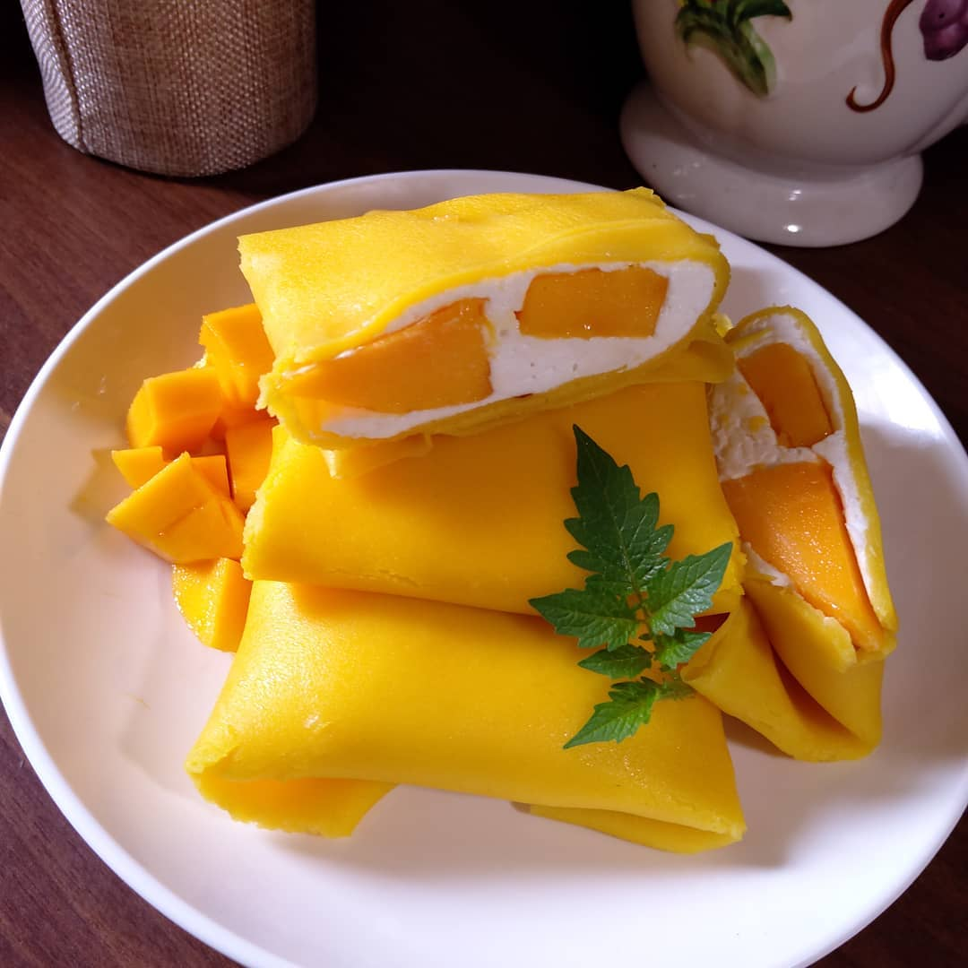 Cara Membuat Pancake Mangga
