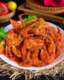 Resep Kepiting Saus Pedas (Spicy Chilli Crabs) ala Singapore dan Tips Memilih Kepiting Yang Segar & Murah