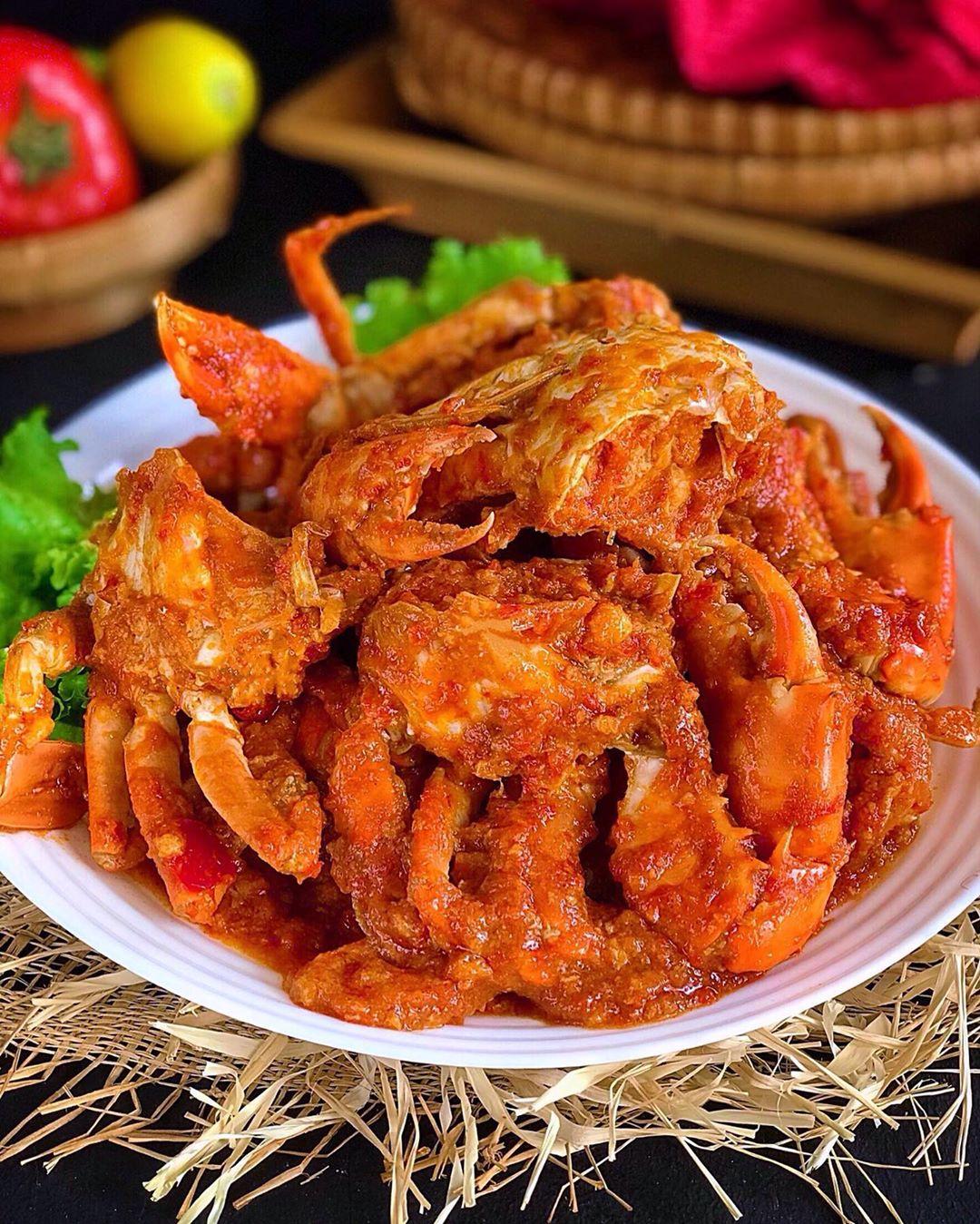Resep Kepiting Saus Pedas