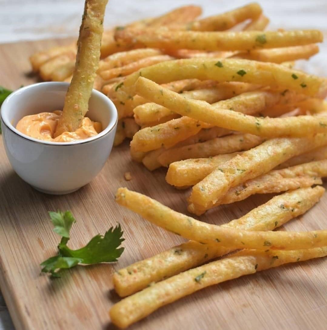 Resep Long Potato Fries