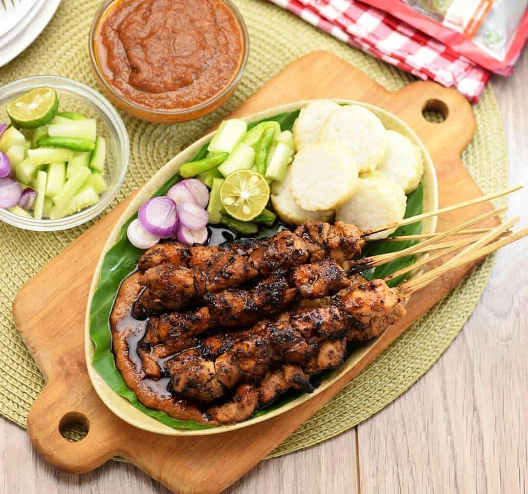 Resep Sate Ayam Madura Bumbu Kacang Yang Cocok Untuk Lauk Dan Menu Bakaran Di Malam Tahun Baru Nanti