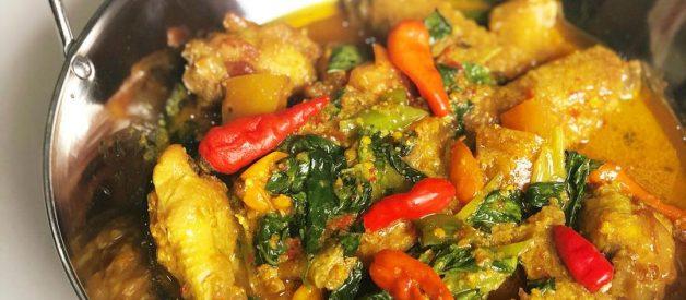 Resep Ayam Woku Kemangi Belangga ala Manado Dengan Citarasa Pedas Yang Menggigit