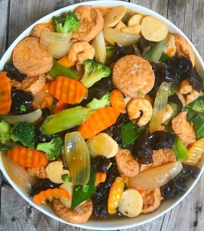 Resep Sapo Tahu Ayam Udang Jamur Brokoli Yang Enak ala Restoran Chinese Food