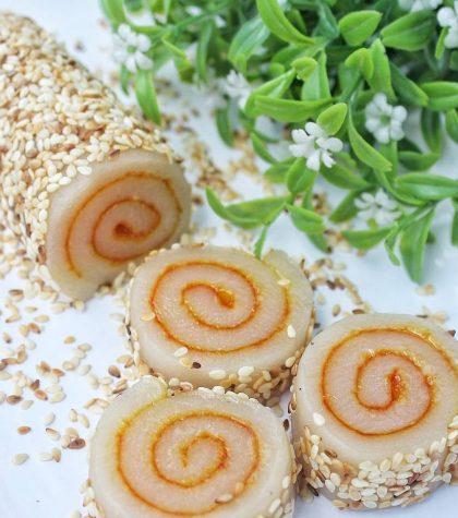 Resep Mochi Gulung Isi Kacang Wijen Rumahan (Mochi Roll) Yang Enak, Simple dan Mudah Dibuat