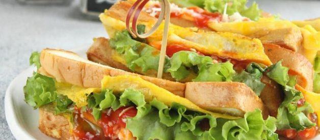 Resep Roti Jhon Pakai Roti Tawar Super Praktis Yang Lagi Viral #1 di IG dan Youtobe