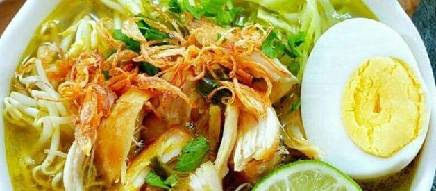 Resep Soto Ayam Kampung Kuah Kuning Yang Enak, Gurih, dan Mudah Dibuat