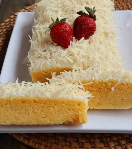 Resep Bolu Susu Lembang Kukus 2 Telur Super Irit Hasilnya Lembut Bingit!
