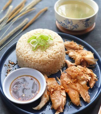 Resep Nasi Ayam Hainan Rice Cooker : Nasi Ayam Pek Cam Kee Rebus Halal ala Resto