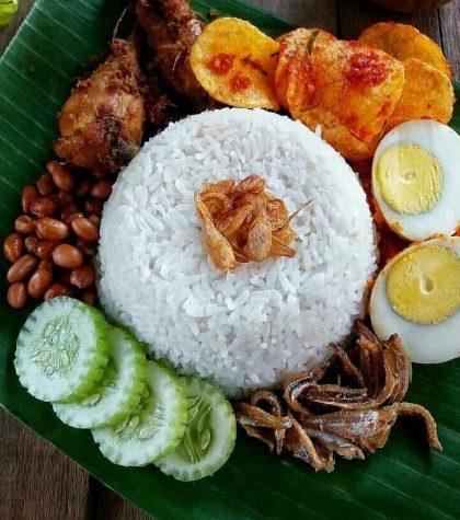 Resep Nasi Lemak Khas Melayu Special Komplit