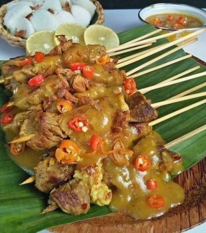 Resep Sate Padang Asli Bumbu Kuah Kental Minang