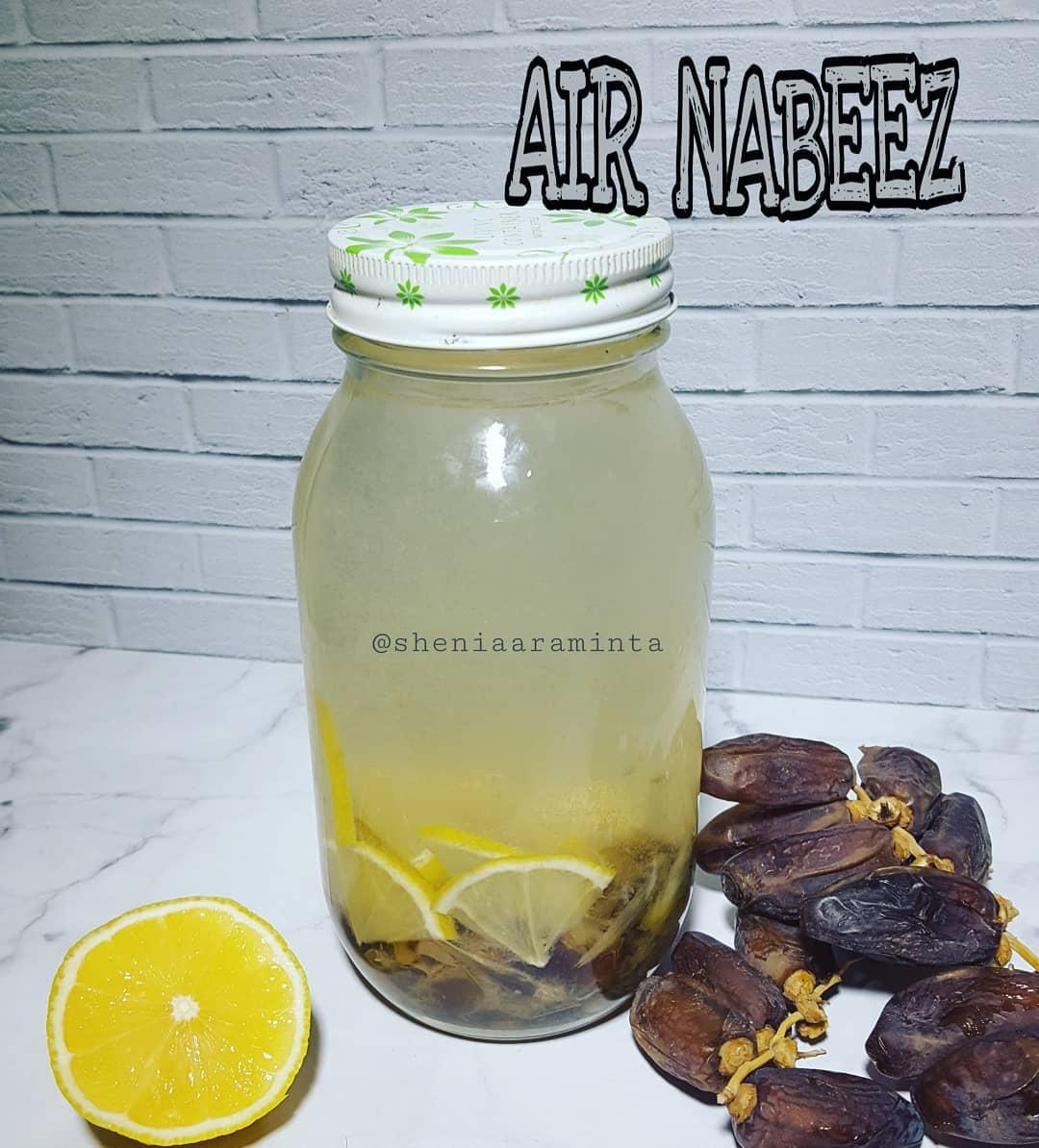 Resep Air Nabeez