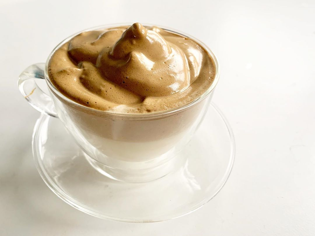 Resep Dalgona Coffee Latte