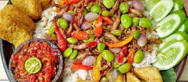 Resep Nasi Liwet Sunda Teri Pete Rice Cooker Enak Praktis