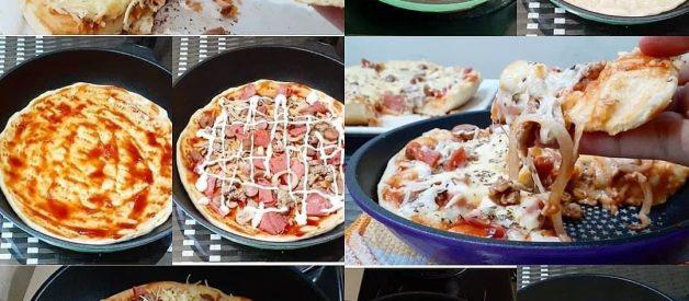 Resep Pizza Teflon Anti Gagal, 1 Jam-an Selesai, Cocok Untuk Pemula!
